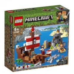Lego® 21152 La Aventura del Barco Pirata