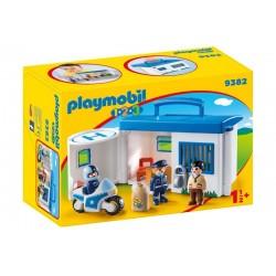 Playmobil® 9382 Comisaría de Policía Maletín 1.2.3