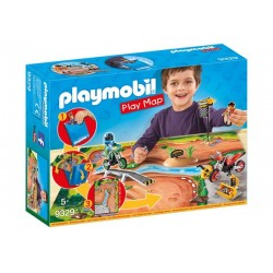 Playmobil® 9329 Play Map Motocross