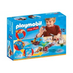 Playmobil® 9328 Play Map Piratas