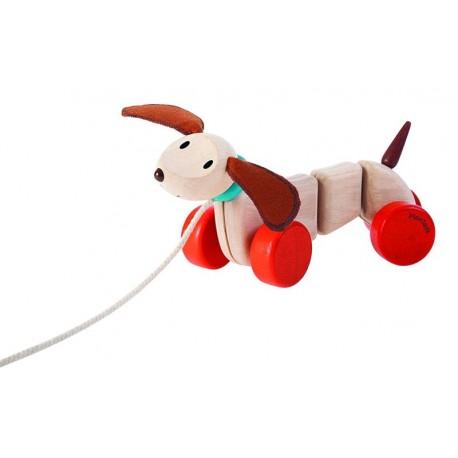 PlanToys 5101 Arrastre Cachorro Feliz