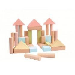PlanToys 5507 40 Bloques Pastel