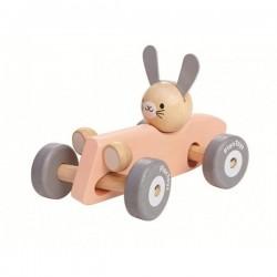 PlanToys 5717 Coche de Carreras Conejo