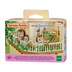 Sylvanian Families 5224 Set Decoración Jardín