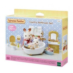 Sylvanian Families 5286 Set Baño Country