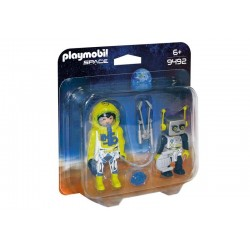 Playmobil® 9492 duo Pack Astronauta y Robot