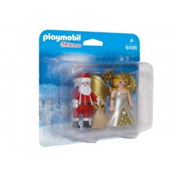 Playmobil® 9498 Duo Pack Papá Noel con Ángel