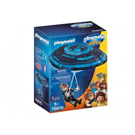 Playmobil® 70070 Rex Dasher con Paracaídas