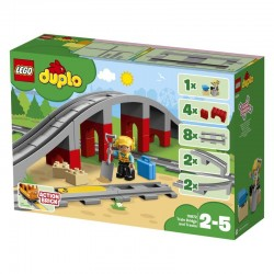 Lego® 10872 Puente y Vías Ferroviarias