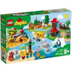 Lego® 10907 Animales del Mundo