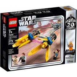Lego® 75258 Vaina de Carreras de Anakin (Edición 20 Aniversario)