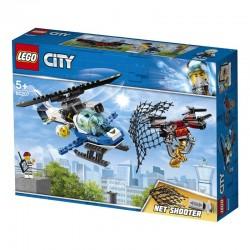 Lego® 60207 Policía Aérea: A la Caza del Dron