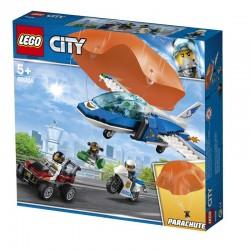 Lego® 60208 Policía Aérea: Arresto del Ladrón Paracaidista