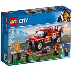 Lego® 60231 Camión de Intervención del Jefe de Bomberos