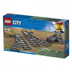 Lego® 60238 Cambios de Agujas