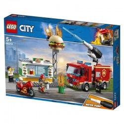 Lego® 60214  Rescate del Incendio en la Hamburguesería