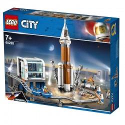 Lego® 60228 Cohete Espacial de Larga Distancia y Centro de Control