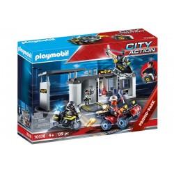 Playmobil® 70338 Comisaria Maletín Fuerzas Especiales