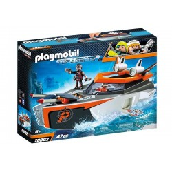 Playmobil® 70002 SPY TEAM: Turbo Nave