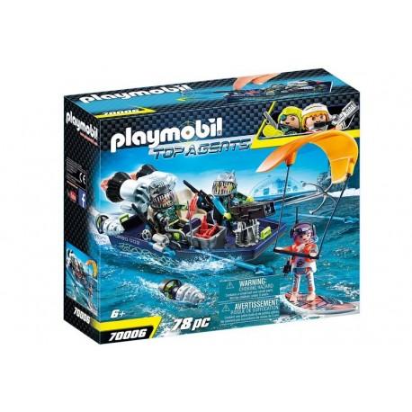 Playmobil® 70006 SPY TEAM:  Nave con Arpón