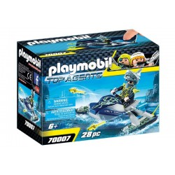 Playmobil® 70007 SPY TEAM:  Nave Cohete