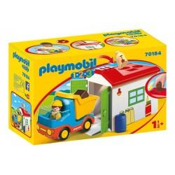 Playmobil® 70184 1.2.3.  Camión con Garaje