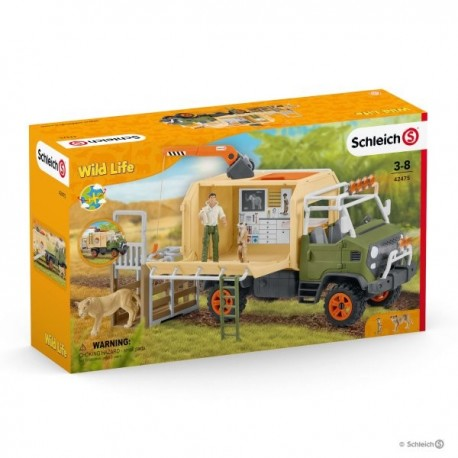 Schleich® 42475 Camión de Salvamento de Animales Grande