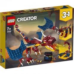 Lego® 31102 Dragón Llameante