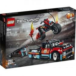 Lego® 42106 Espectáculo Acrobático: Camión y Moto