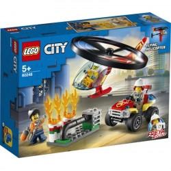 Lego® 60248 Intervención del Helicóptero de Bomberos