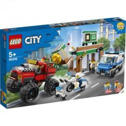 Lego® 60245 Policía: Atraco del Monster Truck