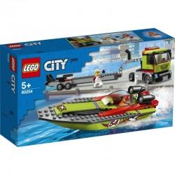 Lego® 60254 Transporte de la Lancha de Carreras