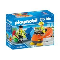 Playmobil® 70203 Vehículo de Limpieza