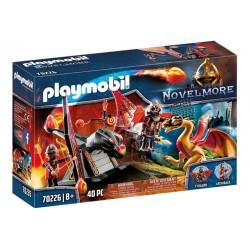 Playmobil® 70226 Entrenamiento del Dragón Bandidos Burnham