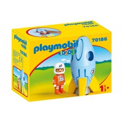 Playmobil® 70186  1.2.3. Astronauta con Cohete