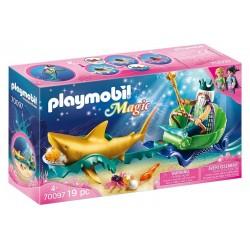 Playmobil® 70097 Rey del Mar con Carruaje de Tiburón