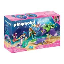 Playmobil® 70099 Recolectores de Perlas con Manta Raya