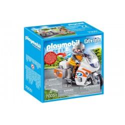 Playmobil® 70051 Moto de Emergencias