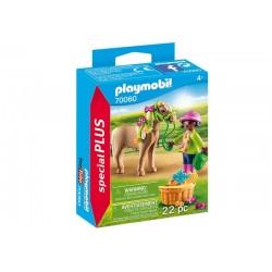 Playmobil® 70060 Niña con Poni