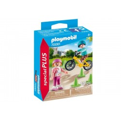 Playmobil® 70061 Niños con Bici y Patines