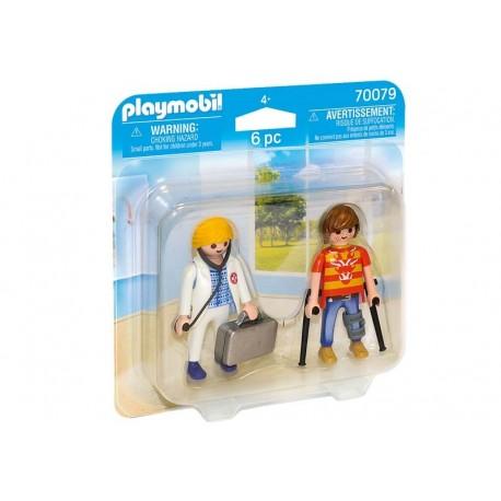Playmobil® 70079 Duo Pack Doctora y Paciente