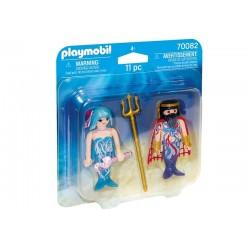 Playmobil® 70082 Duo Pack Rey del Mar y Sirena