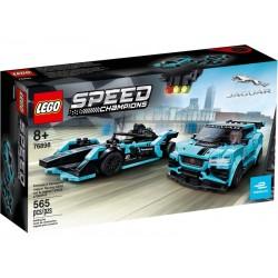 Lego® 76898 Formula E Panasonic Jaguar Racing GEN2 car & Jaguar I-PACE eTROPHY