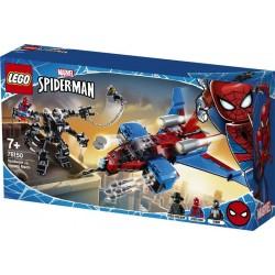 Lego® 76150 Jet Arácnido vs. Armadura Robótica de Venom