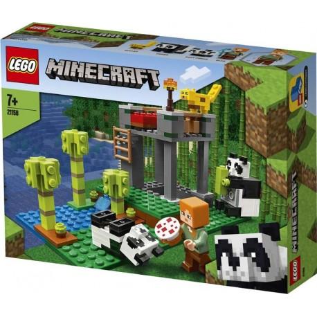 Lego® 21158 El Criadero de Pandas