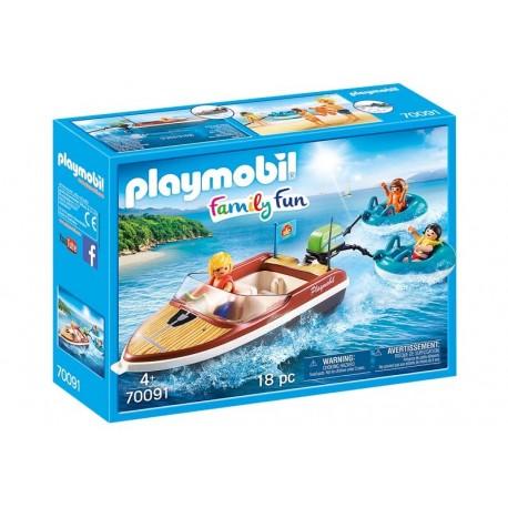 Playmobil® 70091 Lancha con Flotadores