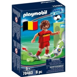 Playmobil® 70483 Jugador de Fútbol: Bélgica