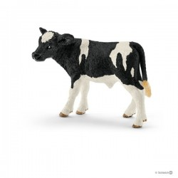 Schleich® 13798 Ternero Frisón de Manchas Negras