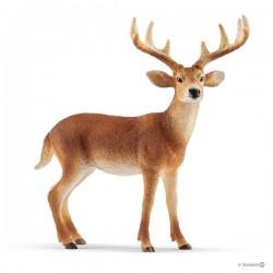 Schleich® 14818 Ciervo de cola blanca macho