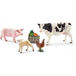 Schleich® 41424 Set Primeros Animales de Granja